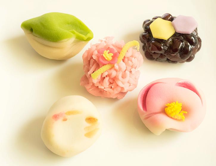 練り切り・上生・箱根のお土産おみやげに(C)孫三総本家・花詩Japanese-sweets-wagashi